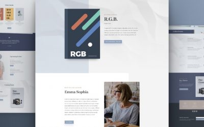 Free Amazing Divi Layout Packs for Content Creator and Author