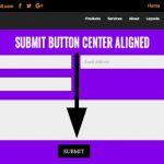 How to Make the Submit Button in the Divi Contact Form  Centered