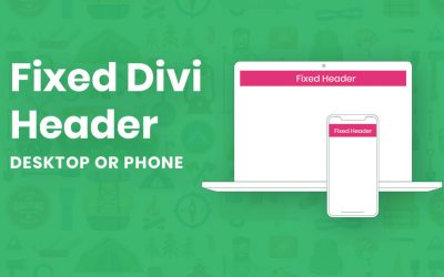 How to Create Sticky Header on Divi Website