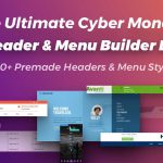 Big Cyber Monday Menu and Header Package