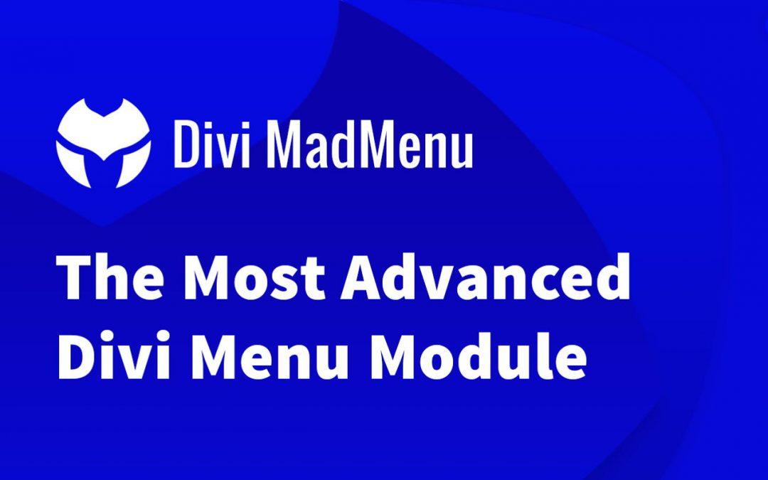Divi MadMenu Review – The Most Advance Divi Menu Module