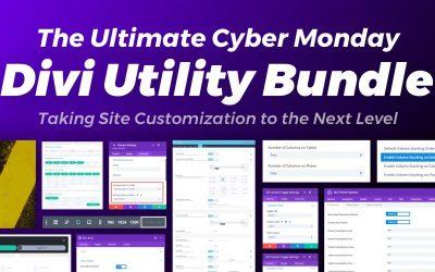 Ultimate Divi Cyber Monday Utility Bundle – Get 50% Off