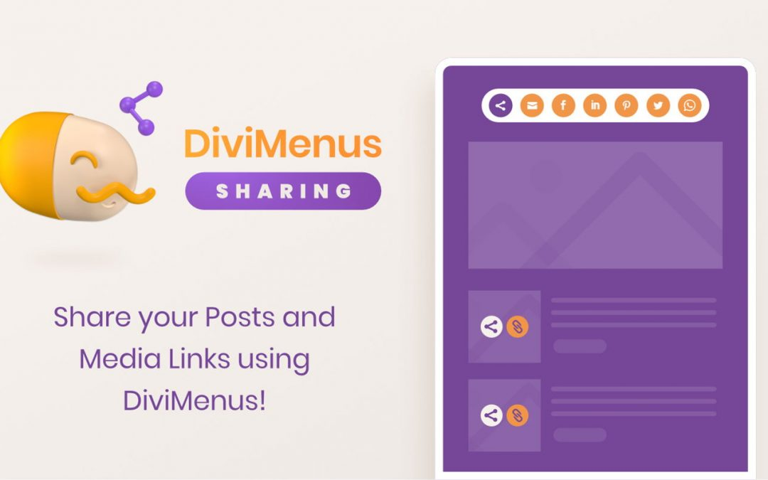 Free copy of the DiviMenus Sharing on Cyber Monday Sale 2020