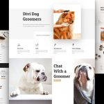 Free Divi Dog Grooming Layout Design Pack
