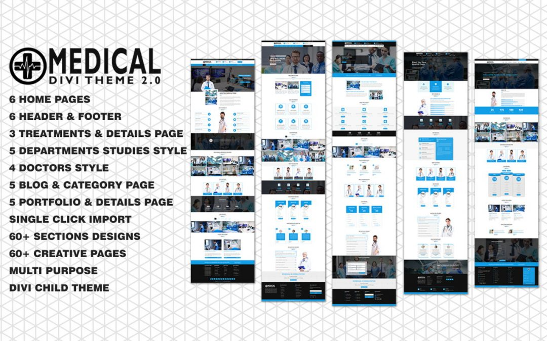 Divi Medical and Health Care Child Theme Review