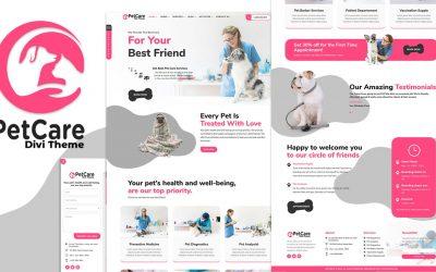 Divi Pet Care Child Theme Review