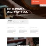 Example Wood Product Website Powered by Divi