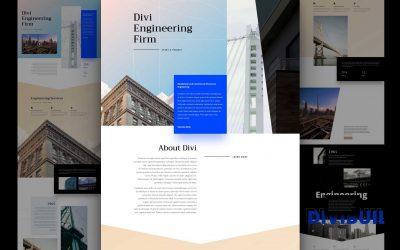 Download Free Divi Engineering Firm Layout Pack
