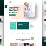 Free Divi Family Doctor Layout Theme for Family Doctor Website