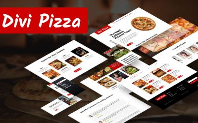 Divi Pizza – The Best Divi Layout Pack for Pizzaria and Restaurant Website