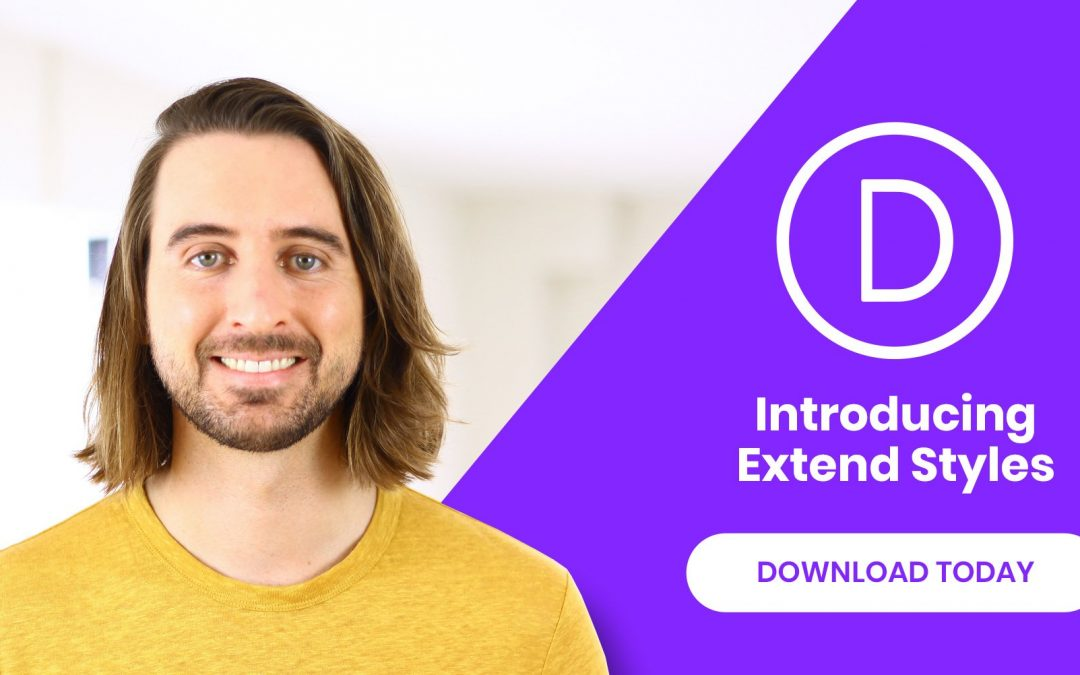 Divi Feature Extend Styles – Build Divi Page Faster Than Before