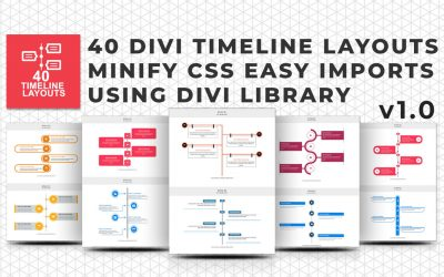 Divi Timeline Layout Packages Review