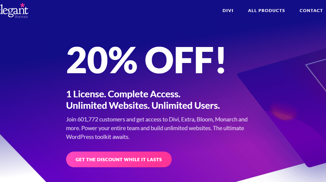Is Divi Worth of the Money? Get 20% Discount for Divi Theme Package