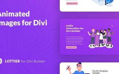 Lottier – Divi Lottie Animated Images Plugin Review