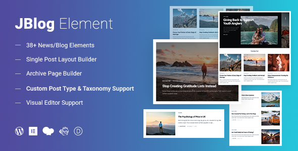 JBlog Elements  Plugin Review for Divi Page Builder