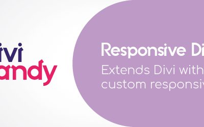Free Responsive Plugin for Divi Builder from Divi Candy