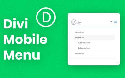 Divi Mobile Menu Review