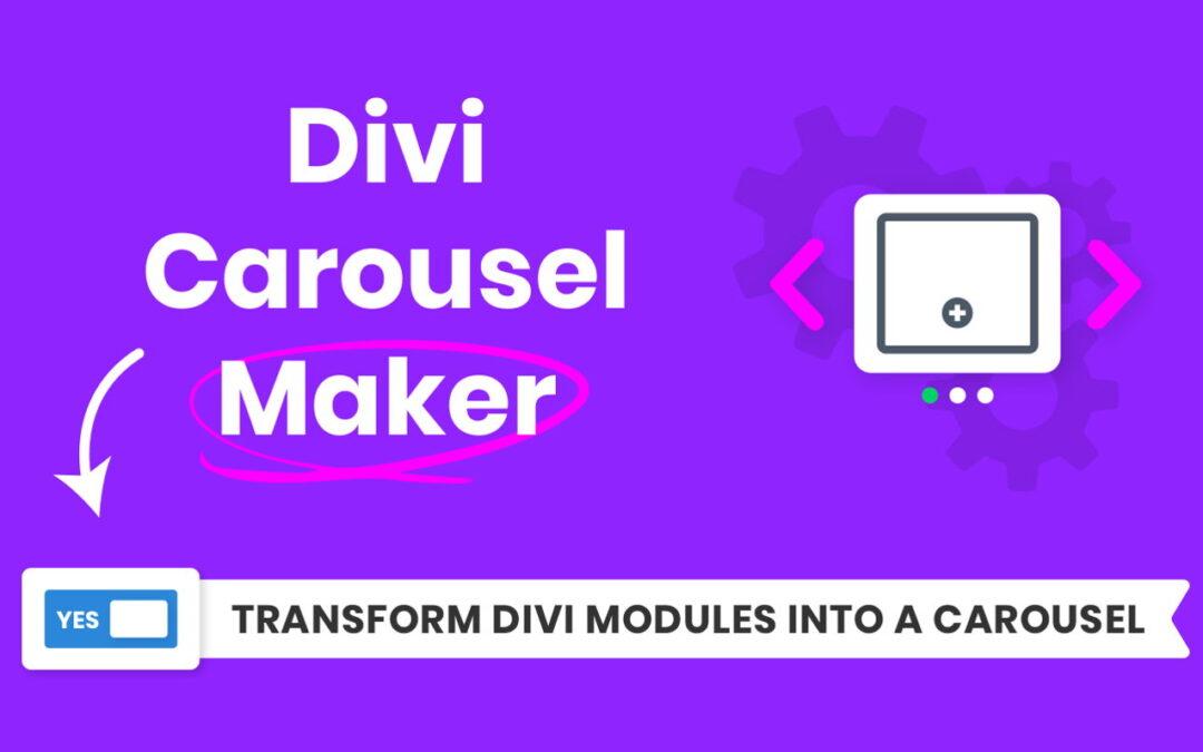 Divi Carousel Maker Review