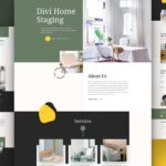 Download FREE Divi Home Staging Layout