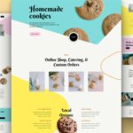 Download Free Divi Homemade Cookies Layout Pack
